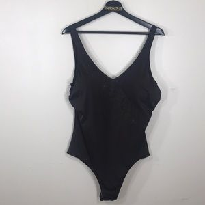 Cherokee Brown One Piece Swimsuit 22W